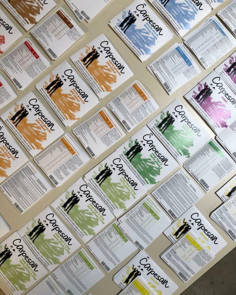 kleurrijke labels