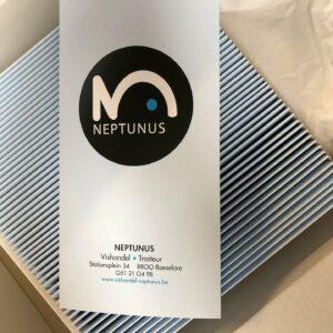 Menuboek Neptunus