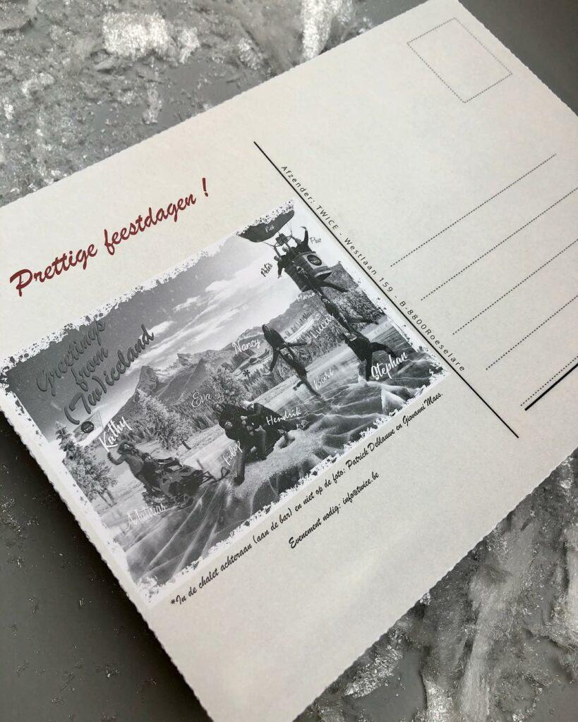 postkaart Twice