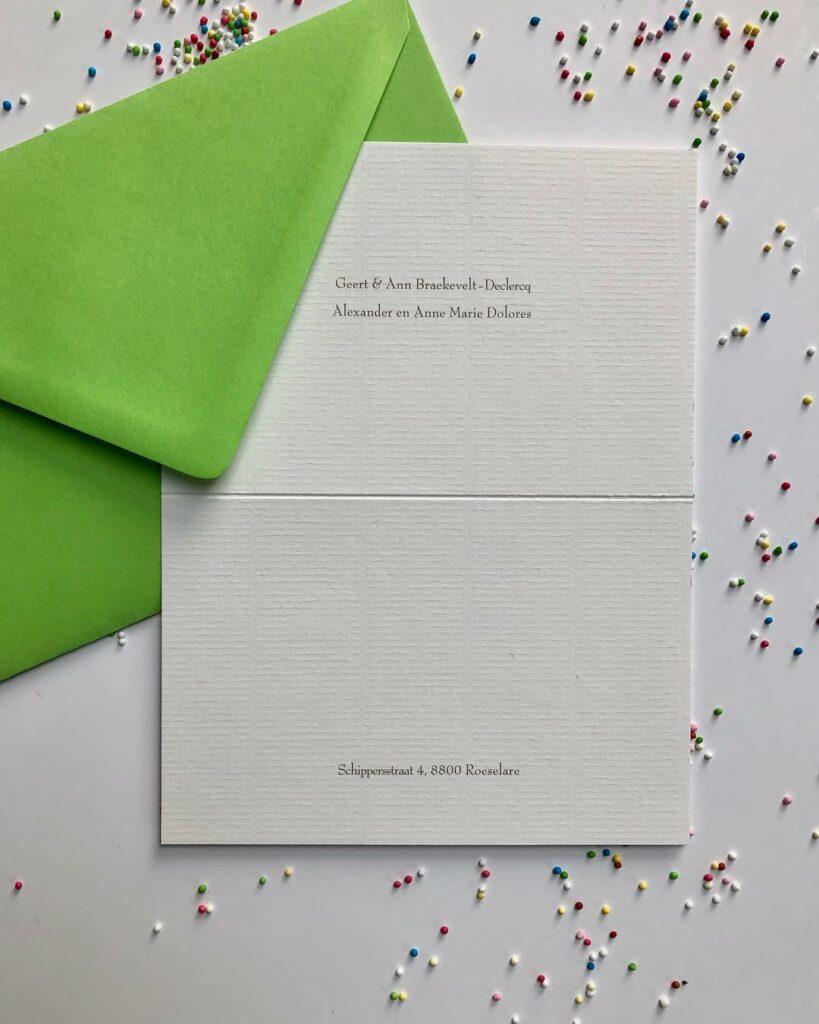 groene envelop