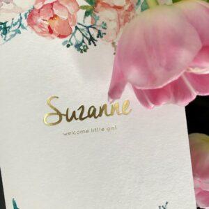 Geboorte Suzanne