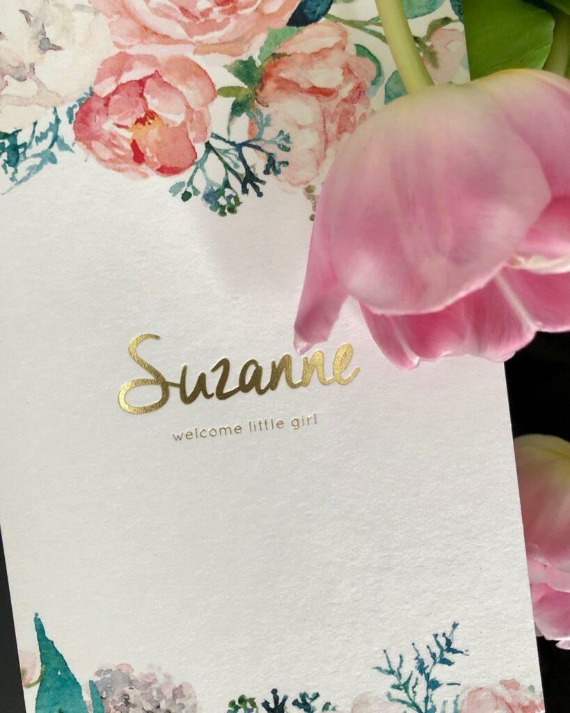 geboorte Suzanne roos