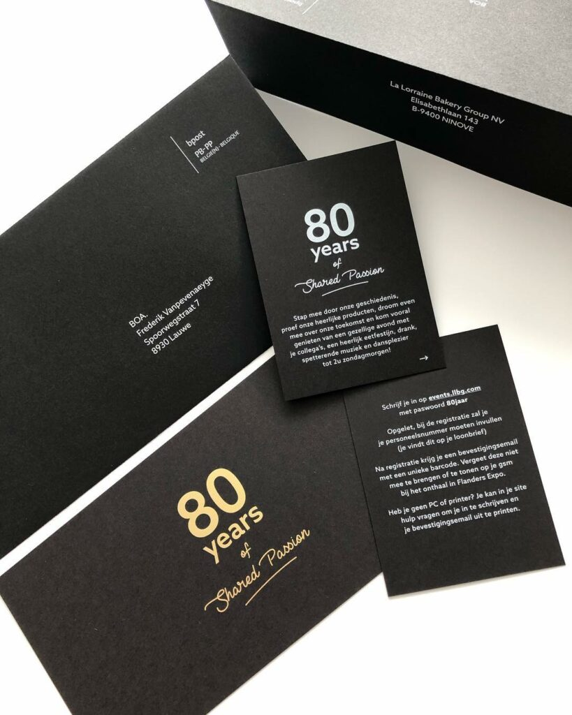 mailing 80 jaar