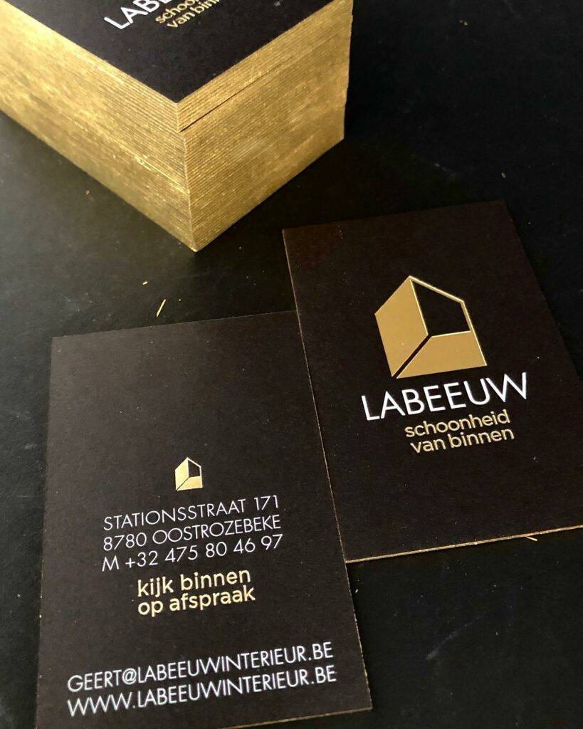 firmakaartje Labeeuw