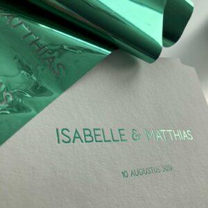Huwelijk Isabelle & Matthias