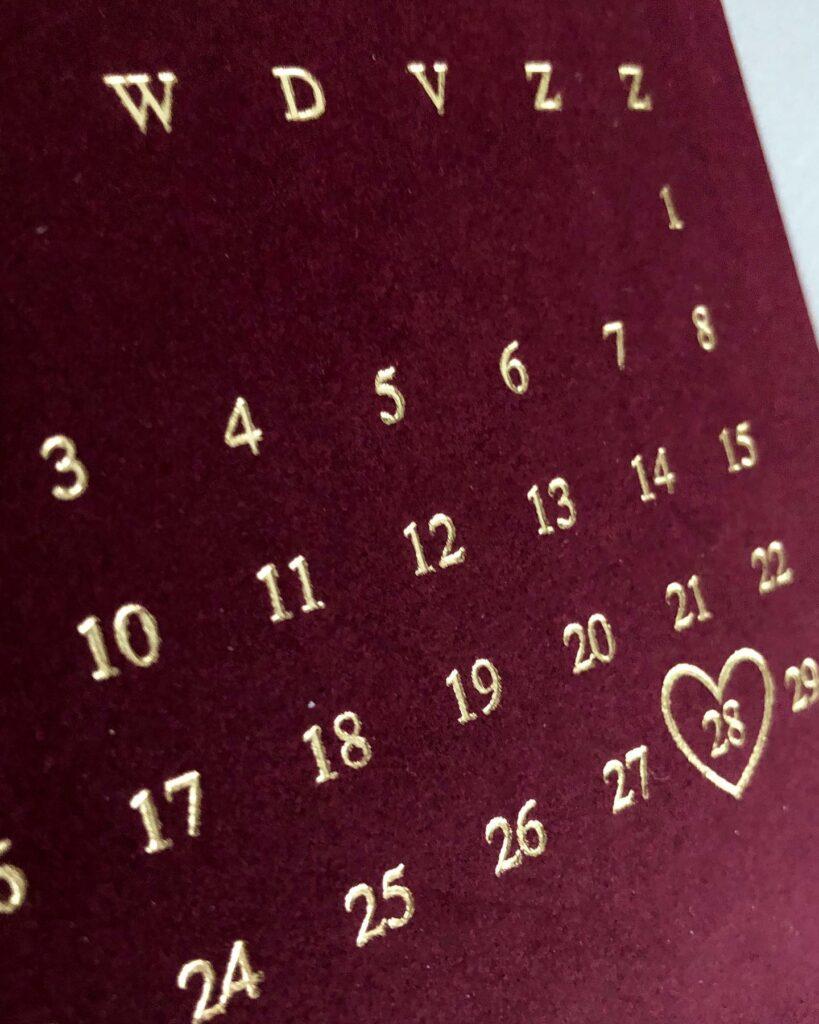 Save the date Elien & Martijn