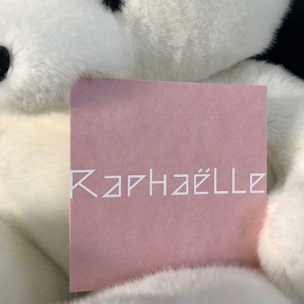 Geboorte Raphaëlle