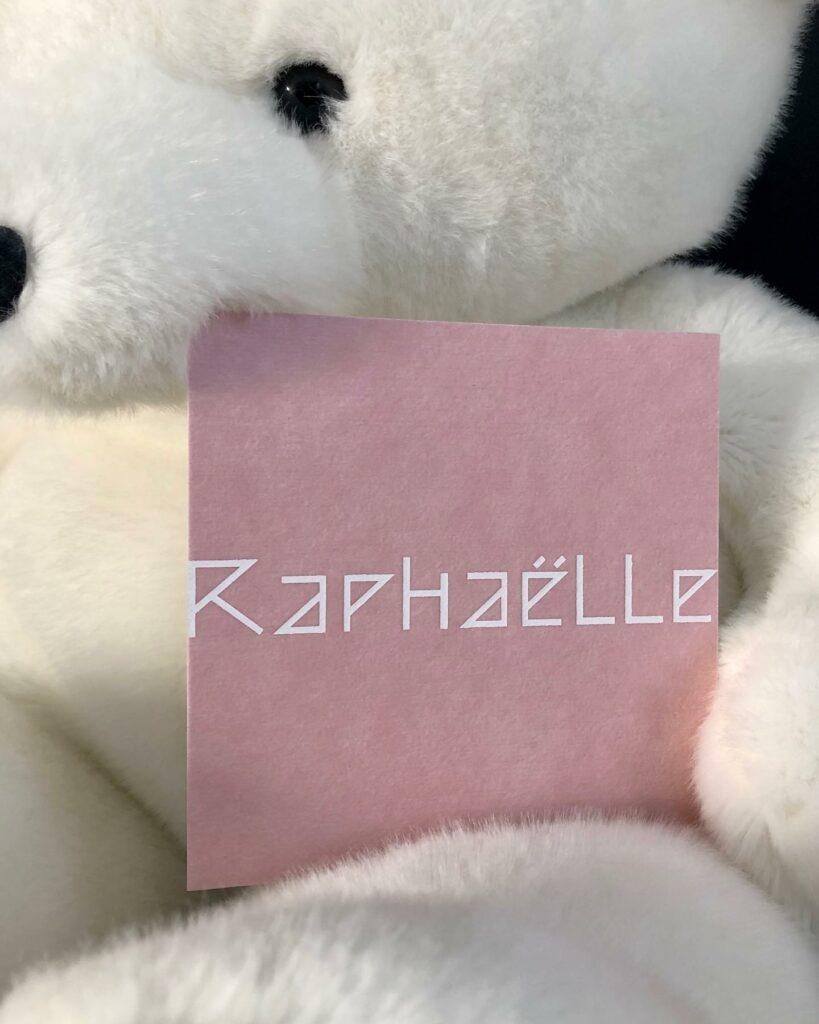 geboortekaart Raphaëlle