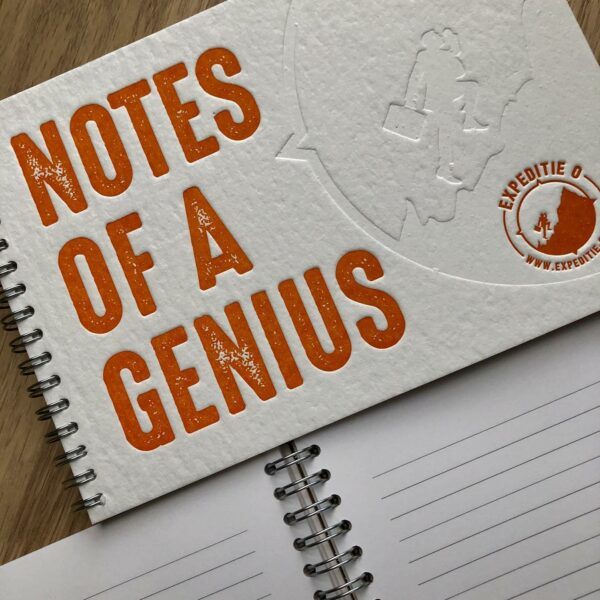 Notebook 'Notes of a Genius'